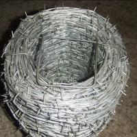 Quality PVC Coated  Roll Barbed Wire In Roll For Industry,Agriculture for sale