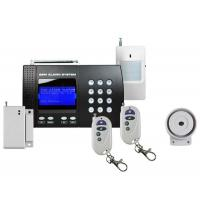 Quality Home GSM Alarm System With LCD Menu for sale