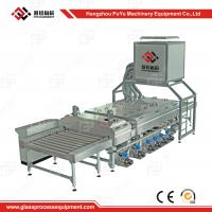 China CE High Speed Solar Panel Making Machine Glass Washing and Drying Machine on sale