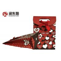 Quality Patch Handle Wrapping Paper Bag Durable Material For Birthday Wedding Gift Items for sale
