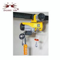Quality PA1000A Mini Electric Hoist , Overhead Electric Hoist  220V/230V Yellow Color for sale