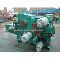 China Electric Drum Chipper Machine Drum Type Industrial Wood Chipper Energy Saving on sale