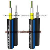Quality Figure 8 Outdoor Multimode Fiber Optic Cable Central Loose Tube With Yarn for sale