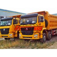 Quality Strengthened Utility Dump Truck With MAN Engine 10 Wheel 340hp Engine Power for sale