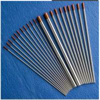 Quality TIG welding wolfram tungsten electrodes WT20 for welding ,purity 99.95% ,2% red for sale