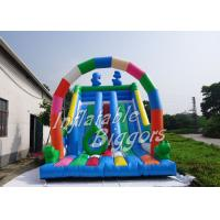 China Puncture-Proof Backyard Inflatable Slides , Inflatable Slide For Birthday Party on sale