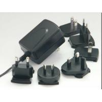 Quality Interchangeable Plug Wall Mount Power Adapter With 15W / 18W / 24W AC for sale