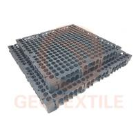 Quality PP Drainage Cell Panels / 300mm*300mm*30mm Geocomposite Wall Drain for sale
