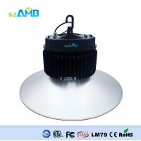 13000 ~ 15000lm IP65 Waterproof 150w AMB Led Highbay Lights Replace 400w Metal Halide Lamp