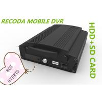 Quality Hybrid 8CH 1080P HDD SD card HD Mobile DVR vehicle video recorder 3G GPS WIFI for sale