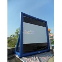 Best Movable Indoor / Outdoor Inflatable Movie Screen / Blow Up TV Screen Gor Backyard / Amusement Park wholesale