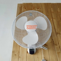 """Quality 16 inch electric plastic wall fan with remote control for office and home appliances/16"""" Ventilador de pared/Wall Mount for sale"""