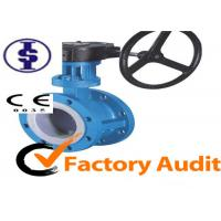 Quality Automated Gear Operated Butterfly Valve for sale