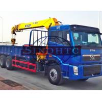 Quality 20 Tons 6x4 / 30 Tons 8x4 Cargo Transport Truck Heavy Duty Truck Mounted Crane for sale