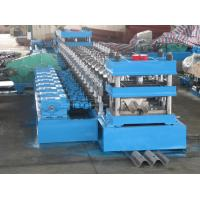 Quality Highway W Beam And Thrie Beam Guardrail Change Over Roll Forming Machine for sale
