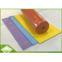Spunbonded Non Woven Fabric Cloth / Non Woven Polypropylene Roll For Table Cover