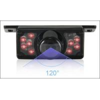 China Universal car license plate car camera small size and night vision water proof IP67 with 9pcs LED light on sale