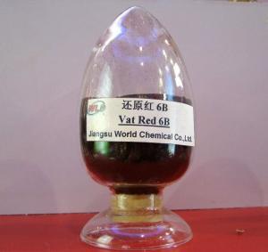 Quality Eco Friendly Indigo Vat Dye Red 13 Red 6B CDP Eco Friendly Fabric Dye Powder for sale