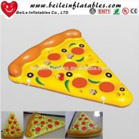 Buy cheap 2016 Stock Giant PVC air bed inflatable pizza float from wholesalers