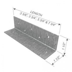 Quality Header Cripple Stud Clip 16 Ga Metal Framing Parts for sale