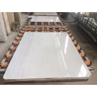 Quality Crystal White Marble Tile And Slab For Wall Covering And Flooring Pavment for sale