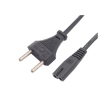 Quality 2 Pin Brazil Plug Inmetro Power Cord For Consumer Electronics for sale