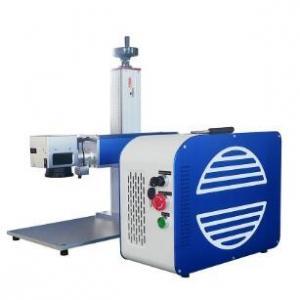 Quality Fiber Color Pigeon Ring Laser Marking Machine Plastic Tag Portable Engraver Machine for sale