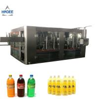 Quality fruit juice bottling machine rotary liquid filling machine monoblock filling and capping machine 3 in 1 water filling for sale