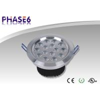 Quality 15W 1320lm Power Factor 0.95 D140 * 90mm LED Recessed Ceiling Lights With Black, Gold shell for sale