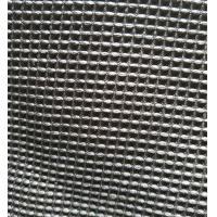 Quality Black Microfiber Waffle Fabric  300gsm 150cm Width For Beddings Clothes for sale