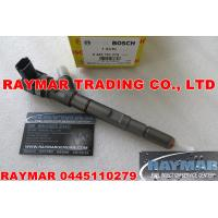 Best BOSCH common rail injector 0445110279, 0445110186 for Hyundai Starex 2.5L 33800-4A000 wholesale