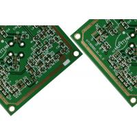 Quality 4 Layer Rogers Mixed FR4 Wifi Antenna pcb boards With 5.8 GHz 3 Oz Copper Through Hole Via for sale