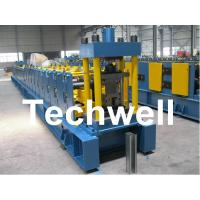 Quality Sigma Profile S18 Sigma Post Guardrail Forming Machine With 36# H Steel Machine Base for sale