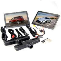 Quality 10.1 inch Capacitive Touch Screen Active Headrest DVD Player , Car Headrest Monitor for sale
