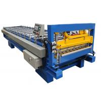Quality Metal Roof Panel Cold Roll Forming Machine / Corrugated Roll Former Fully Automatic for sale