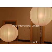 China 1.6 M Inflatable Lighting Decoration , Led Inflatable Balls 2x650W Tungsten Lamp on sale