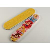 Best Glitter EVA and PS Emery Board Nail File , Disney pattern printing wholesale
