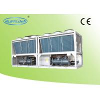 Quality Evaporator Air Cooled Screw Chiller , Anti-corrosion Air Cooled Liquid Chillers for sale