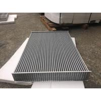 Quality Aluminum tube fin air to air Heat Exchanger Core for heavy duty charge air coolers for sale