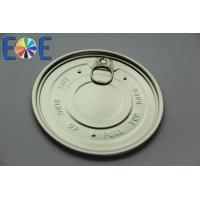Best Aluminum Pop Can Lids , Child Proof Metal Container EOE Lid 502# 126.5mm wholesale