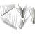 Best Polycarbonate  anti pigeon Spikes 6.5cm - 14cm for Commercial wholesale