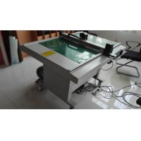 Quality Electronic Digital Die Cutting Machines , Adhesive Paper Flatbed Cutting Machine for sale