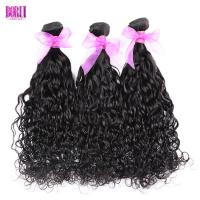 China Wet And Wavy Human Hair , Water Wave Human Hair No Tangle Dyed Bleach Soft on sale