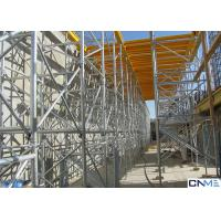 Hot Galvanized 60 Ringlock Scaffolding System , Scaffold Support Systems