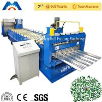 Hi-Rib IBR Roof Sheet Roll Forming Machine Automatic 14 Rows Color Steel Plate