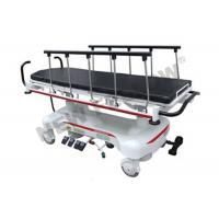 Quality Height Adjustable ABS Plastic Luxury Patient Transfer Stretcher Trolley With X - ray Cassette for sale