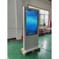 """Quality IP65 4000cd/m2 65"""" 1080x1920 Lcd Advertising Touch Kiosk for sale"""