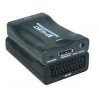 Quality Mini  DP to SCART Converters Support NTSC and PAL Two Standard TV Formats Output for sale