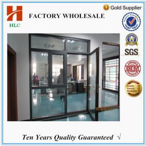 Foshan HLC factory doors with windows that open