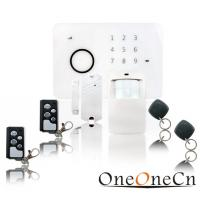 Quality Wireless GSM Security Commercial Alarm System Wall-Mounting for sale